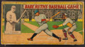Baseball Collectibles:Others, 1936 Babe Ruth's Baseball Game by Milton Bradley....