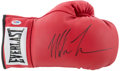Boxing Collectibles:Memorabilia, Mike Tyson Signed Boxing Glove....