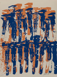 ARMAN (French/American, 1928-2005) New Romanticism, Yang and Bang, and Wrenches, 1979 Serigraphs