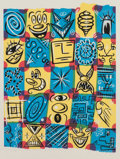 Post-War & Contemporary:Minimalismk, KENNY SCHARF (American, b. 1958). Check Fest, 1998.Lithograph in colors. 29 x 22 inches (73.7 x 55.9 cm). Ed. AP13/18...