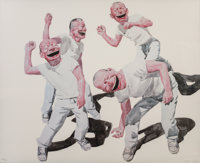 YUE MINJUN (Chinese, b. 1962) Smile-ism No. 2 (One Smile Elevates us All), 2006 Lithograph 35 x 4
