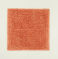 Post-War & Contemporary:Abstract Expressionism, EDDA RENOUF (American, b. 1943). Incised After Sienna Chalk(Resonance #6) and Day-Night 6: Twilight 1 (twoworks)...