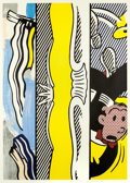 Prints:Contemporary, ROY LICHTENSTEIN (American, 1923-1997). Two Paintings:Dagwood (from the Paintings series), 1984. Woodcut andlithog...