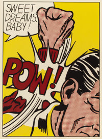 ROY LICHTENSTEIN (American, 1923-1997) Sweet Dreams Baby! (from the 11 Pop Artists portfolio