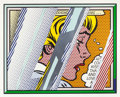 Prints:Contemporary, ROY LICHTENSTEIN (American, 1923-1997). Reflections on Girl(from the Reflections series), 1990. Lithograph,scr...