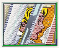 ROY LICHTENSTEIN (American, 1923-1997) Reflections on Girl (from the Reflections series)<