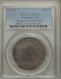 Early Half Dollars, 1795 50C 2 Leaves, A Over E in STATES, O-113, R.3, AG3 PCGS. PCGSPopulation (1/6). ...