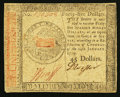 Colonial Notes:Continental Congress Issues, Continental Currency January 14, 1779 $45 Very Fine.. ...