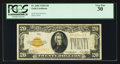 Small Size:Gold Certificates, Fr. 2402 $20 1928 Gold Certificate. PCGS Very Fine 30.. ...