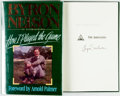 Books:Biography & Memoir, Byron Nelson. SIGNED. How I Played the Game. Dallas: TaylorPublishing, [1993]. Third printing. Signed by the auth...