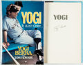 Books:Biography & Memoir, Yogi Berra (with Tom Horton). SIGNED. Yogi. It Ain'tOver...McGraw-Hill, [1989]. First edition. Signed by YogiBer...