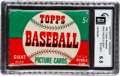 Baseball Cards:Unopened Packs/Display Boxes, 1952 Topps Baseball 1st Series Five Cent Unopened Wax Pack GAIEX-MT+ 6.5....