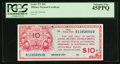 Military Payment Certificates:Series 471, Series 471 $10 PCGS Extremely Fine 45PPQ.. ...