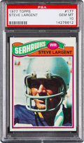Football Cards:Singles (1970-Now), 1977 Topps Steve Largent #177 PSA Gem Mint 10....
