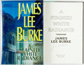 Books:Mystery & Detective Fiction, James Lee Burke. SIGNED. A Stained White Radiance. New York:Hyperion, [1992]. First edition. Signed by the author...