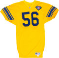 Football Collectibles:Uniforms, 1994 Shane Conlan Game Issued Los Angeles Rams Jersey. ...