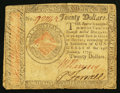 Colonial Notes:Continental Congress Issues, Continental Currency January 14, 1779 $20 Fine-Very Fine.. ...