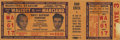 Boxing Collectibles:Memorabilia, 1952 Marciano-Walcott I Full Unused Ticket. On September 23, 1952, Rocky Marciano landed one of the most famous punches in b...
