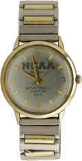 """Basketball Collectibles:Others, 1966 Texas Western NCAA Basketball Championship Presentational Watch. The prize for traveling the """"Glory Road"""" was, in part..."""