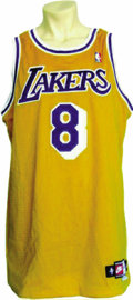 Basketball Collectibles:Uniforms, 1998-99 Kobe Bryant Game Worn Jersey. He may have lost a fewfriends with the scandal at the ski lodge and for his part in ...