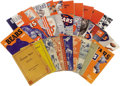 Football Collectibles:Publications, 1934-73 Near Complete Run of Chicago Bears Press Guides Lot of 34. . Update - following descriptions should replace descr...