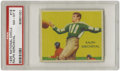 Football Cards:Singles (Pre-1950), 1935 National Chicle Ralph Kercheval #19 PSA NM-MT 8. Only fourexamples of this card have managed to find their way into a...