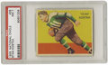 Football Cards:Singles (Pre-1950), 1935 National Chicle Stan Kostka #28 PSA NM 7. Beautiful card isone of the very few in the set to turn the artwork ninety ...