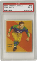 Football Cards:Singles (Pre-1950), 1935 National Chicle Ernie Smith #33 PSA EX 5. Clean and brightimage area captures the unique styling of the Green Bay Pac...