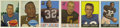 Football Cards:Sets, 1959, 1960, and 1961 Topps Football Complete Sets. Offered here are three early Topps Football issues in complete set form w... (Total: 3 sets)
