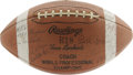 Football Collectibles:Balls, 1962 Green Bay Packers Team Signed Football. A second consecutive NFL Championship for Vince Lombardi's mighty Packers squa...