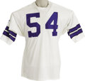 Football Collectibles:Uniforms, Early 1970's Chuck Howley Game Worn Jersey. Six times a Pro Bowler, and the first defensive player ever to be named Super B...