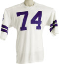 Football Collectibles:Uniforms, Early 1970's Bob Lilly Game Worn Jersey. A stellar representation of a late-career jersey from this superstar defensive lin...