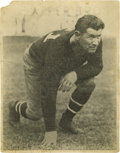 """Football Collectibles:Others, Jim Thorpe Signed Large Photograph. Image measures 11x14"""" in size and appears to be a later reprint of an shot of Thorpe in..."""