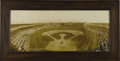Baseball Collectibles:Photos, 1908 Chicago Cubs vs. New York Giants Panoramic Photograph. Clearlyone of the most exceptional panoramas to reach the auct...