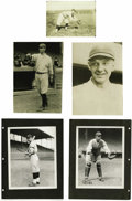 "Baseball Collectibles:Photos, Circa 1920 New York Yankees Photographs Lot of 6 from the Herold""Muddy"" Ruel Collection. Direct from the archives of Mudd..."