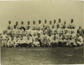 Baseball Collectibles:Photos, Late 1920's New York Yankees Team Photograph. From the same St.Petersburg, Florida estate that included the amazing 1928 p...