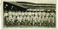 """Baseball Collectibles:Photos, 1930 Washington Senators Large Photograph from the Herold """"Muddy""""Ruel Collection. Another sizeable (10x20"""") photographic t..."""