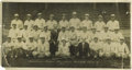 """Baseball Collectibles:Photos, 1931 Philadelphia Athletics Panoramic Photograph. Rare andfantastic oversized (9x17"""") photograph was issued only to member..."""