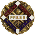 Baseball Collectibles:Others, 1939 World Series (New York Yankees) Press Pin. The Centennialseason was one of baseball's most notable, and despite the l...