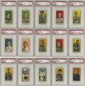 Baseball Cards:Sets, 1909-1911 T206 White Border Partial Set (422/521). Offered here isa partial set of the American Tobacco Company's classic T...
