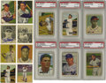 Baseball Cards:Sets, 1948-1952 Bowman Baseball Complete and Near Complete Sets withAutographs. Includes 1948 Bowman set of 48 cards, of which 33...(Total: 5 sets)