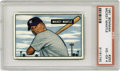 Baseball Cards:Singles (1950-1959), 1951 Bowman Mickey Mantle #253 PSA VG-EX 4. The Mick's true rookie!While the 1952 Topps card is the one that gets all the...