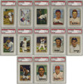 Baseball Cards:Sets, 1951 Bowman Baseball High-Grade Complete Set (324). Offered here isa stunningly fresh complete set of the historic 1951 Bow...