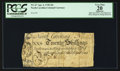 Colonial Notes:North Carolina, North Carolina April 4, 1748 20s PCGS Apparent Very Fine 20.. ...