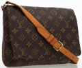 "Luxury Accessories:Home, Louis Vuitton Classic Monogram Canvas Musette Tango Bag . 10"" Widthx 7.5"" Height x 3"" Depth, 13"" Shoulder Drop. Very Good C..."