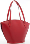 Luxury Accessories:Bags, Louis Vuitton Red Epi Leather Saint Jacques GM Tote Bag . ...