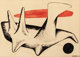 ALEXANDER CALDER (American, 1898-1976) Untitled, 1950 Gouache, ink, and pencil on paper 29-1/2 x 41-1/2 inches (74.9