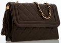 Luxury Accessories:Bags, Chanel Brown Quilted Lambskin Leather Flap Bag with Gold Hardware ....