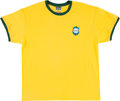 Miscellaneous Collectibles:General, 2000's Pele Signed CBD Brazil Jersey Shirt. ...