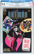 Modern Age (1980-Present):Superhero, Batman Adventures: Mad Love #nn (DC, 1994) CGC NM 9.4 Whitepages....